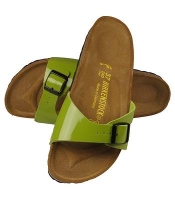 the latest cb77f b776f Birkenstock Madrid Sandals - Peridot Green Lack BF ...