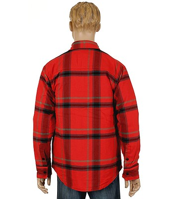 9d3f0111 Nike 6.0 Insulated Road Dog Flannel Shirt LS- Red. No longer available.