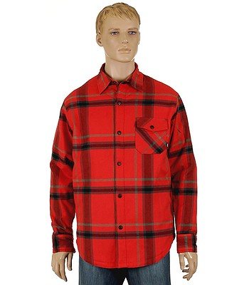 665deaca3 Nike 6.0 Insulated Road Dog Flannel Shirt LS- Red - snowboard-online.eu