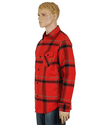 07db61746 Nike 6.0 Insulated Road Dog Flannel Shirt LS- Red. No longer available.