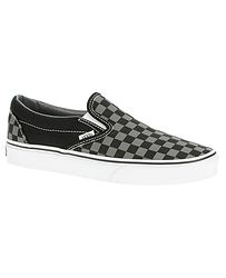 42c1584ced8 boty Vans Classic Slip-On - Black Pewter Checkerboard