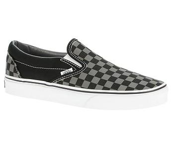 boty Vans Classic Slip-On - Black/Pewter Checkerboard