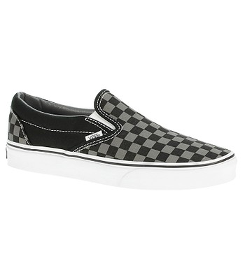 topánky Vans Classic Slip-On - Black Pewter Checkerboard ... 6852928d308