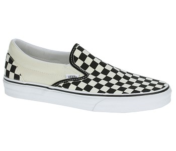 b9a08671ff297 TOPÁNKY VANS CLASSIC SLIP-ON - BLACK & WHITE CHECKERBOARD/WHITE ...