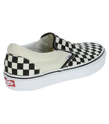 topánky Vans Classic Slip-On - Black   White Checkerboard White ... a2de8933300