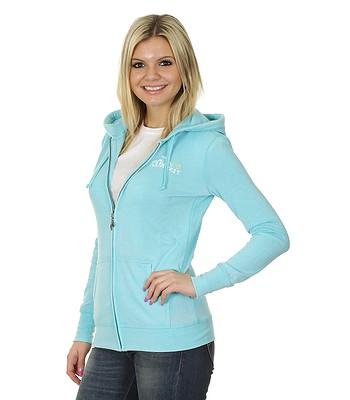 mikina Roxy Laguna Zip - Turquoise - snowboard-online.sk 49ffe924a93