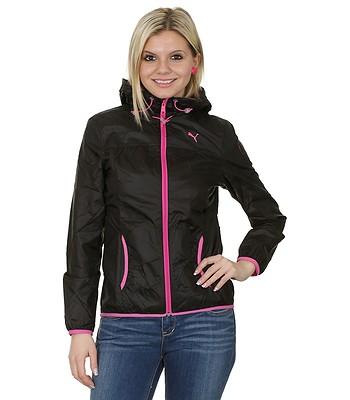 bee51c62fe8e Puma Active Windbreaker Jacket - Black Raspberry Rose - snowboard-online.eu
