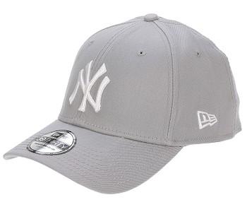 kšiltovka New Era 39T League Basic MLB New York Yankees - Gray/White