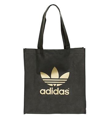 4f24ca2456fad torba adidas AC Trefoil Shop - Black Metallic Gold - blackcomb-shop.pl