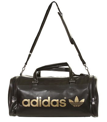 bdbb320839ea Adidas AC Team Bag - Black Metallic Gold - snowboard-online.eu