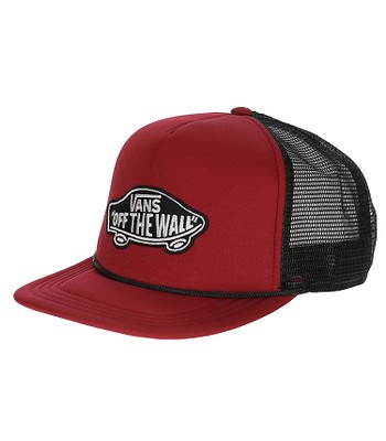kšiltovka Vans Classic Patch Trucker - Red Black  070ee2c658