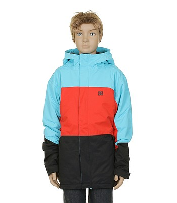31087e0b3c bunda DC Amo K Kid s - Black Athletic Red Blue Toll - snowboard ...