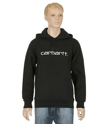 258ce839aac mikina Carhartt Hooded Carhartt Sweatshirt - Black Snow