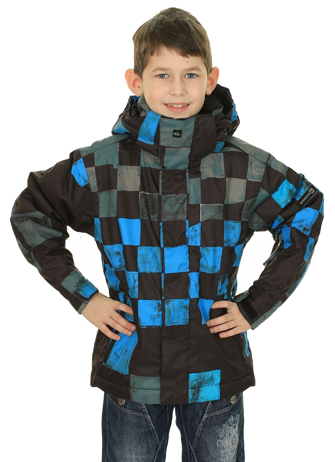 073c18fc1b5200 Youth Kid's Printed Kurtka Quiksilver Black Dna Snow Mission Next 67xInqwFa