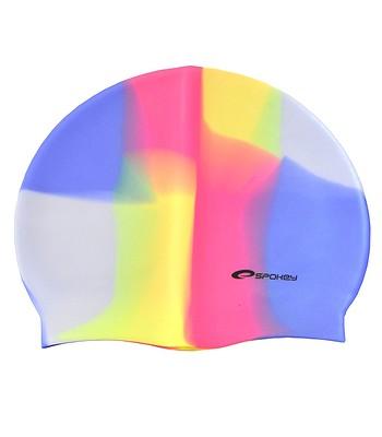 kúpacia čiapka Spokey Abstract - K83950 Multi - snowboard-online.sk becf7221845