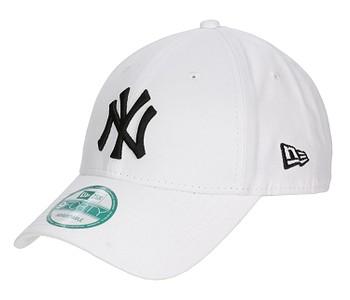 kšiltovka New Era 9FO League Basic MLB New York Yankees - White/Black