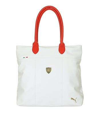 bag Puma Ferrari LS Shopper - Whisper White Rosso Corsa -  snowboard-online.eu 08ff4d492856e