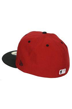 ... kšiltovka New Era 59F Big Word MLB New York Yankees - Scarlet Black 2898e984baab