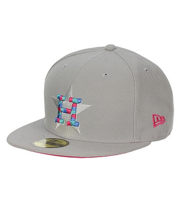 reputable site c501d c0438 kšiltovka New Era 59F Mozaika MLB Houston Astros - Gray Bright Rose