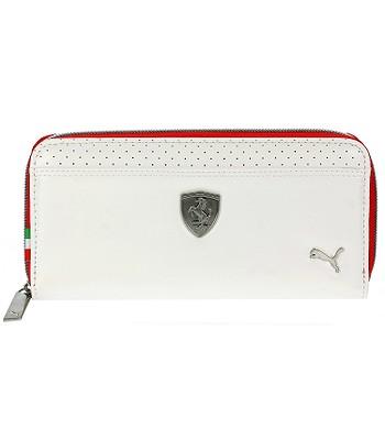 82ff6432cf peněženka Puma Ferrari LS - Whisper White Rosso Corsa - batohy-online.cz