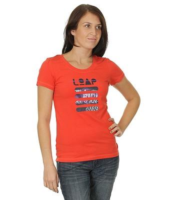 6a68365325a t-shirt Loap Maggie - E35E Neon Red - snowboard-online.eu