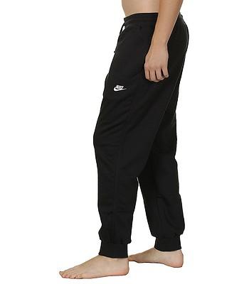 8381bfb1cf0 tepláky Nike AW77 Cuff FLC - 010 Black White - snowboard-online.sk
