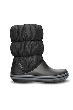 boty Crocs Winter Puff Boot - Black Charcoal ... 4795adb397
