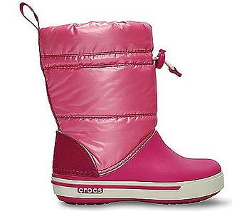 boty Crocs Crocband Iridescent Gust Boot - Fuchsia Pink Lemonade - boty-boty.cz  - doprava zdarma b9651c6117