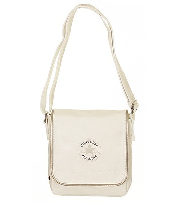 f724e694163 taška Converse SM Flap Bag Retro/410545 - 096/Optic White ...