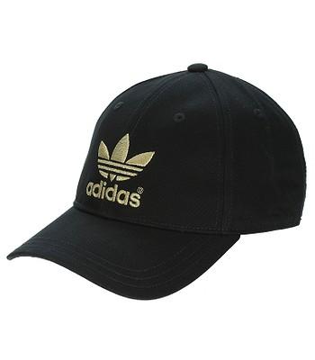 spotykać się trampki przyjazd czapka z daszkiem adidas Originals AC Classic - Black/Metal ...
