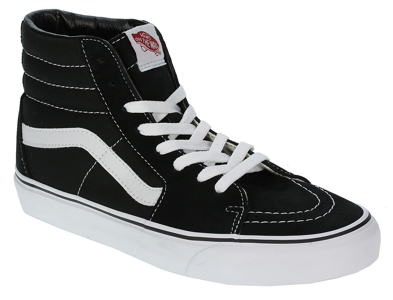 Vans Sk8 Hi BlackBlackWhite Chaussures