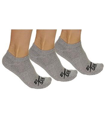 ddc6fc88175 ponožky Nike SB 3PPK No Show - 004 Dark Gray Heather Black ...