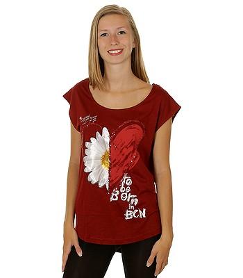 d494329147d T-shirt Desigual 47T2457 Desi - 3082 Ruby Wine - snowboard-online.eu
