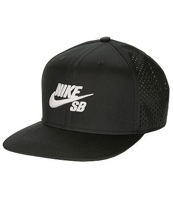 kšiltovka Nike SB Performance Trucker - 010 Black Black Black White ... 56b2739552