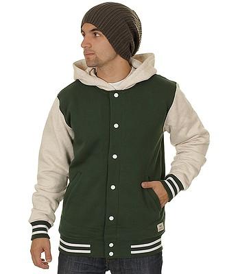 4793c58151 hoodie Vans University II Sherpa - Pine Bone White Heather -  snowboard-online.eu