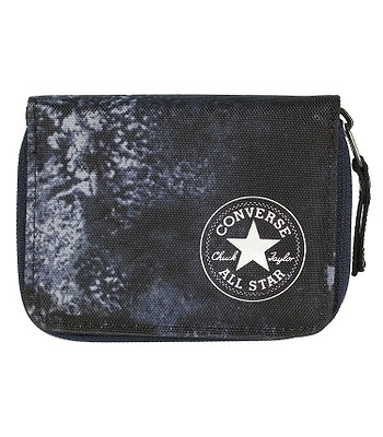 peňaženka Converse Zip Wallet PB 410471 - 909 Converse Navy Wash Print d406fb0fd9e