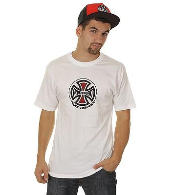 tričko Independent Truck Co - White  23ae392528