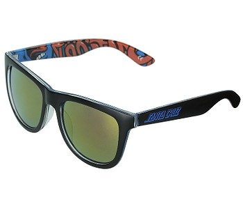 brýle Santa Cruz Screaming Insider - Black/Blue