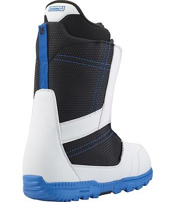 0c63e1824 topánky Burton Invader - White/Black/Blue | blackcomb.sk
