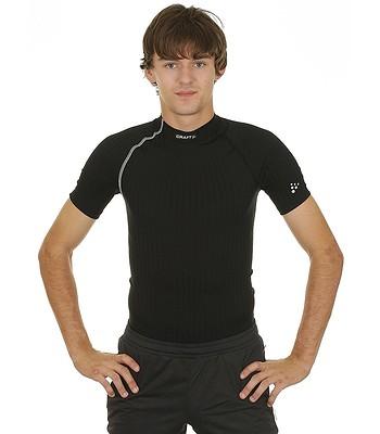 tričko Craft 193890 Extreme - 9920 Black Platinum - snowboard-online ... b06477347ff