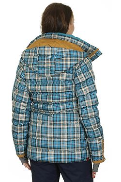 35eb4a885030 ... bunda Roxy Torah Bright Influencer Plaid - BRV2 TB Plaid Ocean Depths