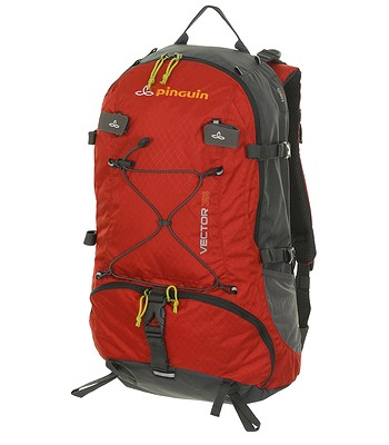 613a8ca3c3 backpack Pinguin Vector 35 - Red Gray - snowboard-online.eu