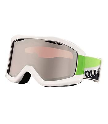 okuliare Quiksilver Fenom Mirror - XWWG White Green - snowboard ... d6dd941bf5c