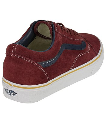 0316abacc3 Vans Old Skool Shoes - Suede Leather Oxblood Red. No longer available.
