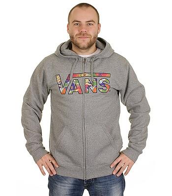 71eee55205be hoodie Vans Classic Zip - Concrete Heather Hampton Floral -  snowboard-online.eu
