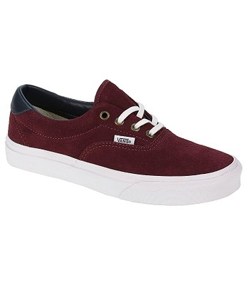 7869ff1ec7 Vans Era 59 Shoes - Suede Leather Oxblood Red - snowboard-online.eu