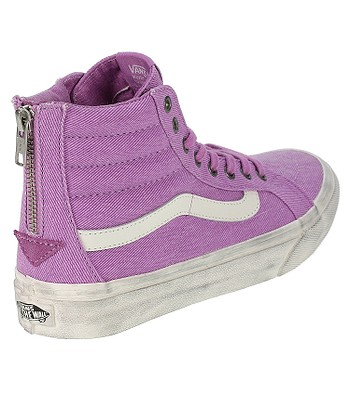 c7ff981de5 Vans Sk8-Hi Slim Zip Shoes - Overwashed Radiant Orchid. No longer available.