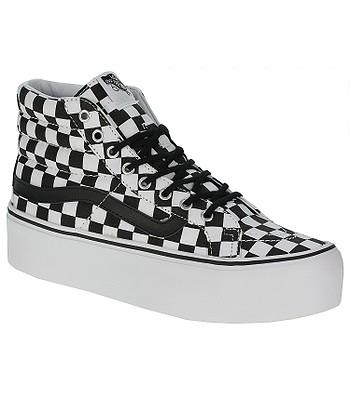 8a9e85c04d shoes Vans Sk8-Hi Platform - Checker Black True White - blackcomb-shop.eu