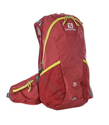 batoh Salomon Trail 20 - Red Chiné Gecko Green - batohy-online.cz b58c3e985a