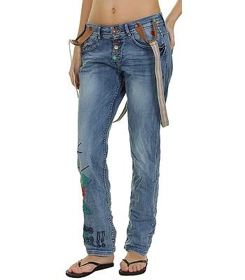 jeans Desigual 55D27A5 Boyfriend Suspenders - 5053 Denim ... 84e60f9c6a